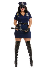 Officer Pat U. Down Plus Size