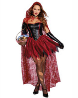 Big Bad Red Women's Costume