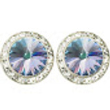 20mm Performance Earrings - Vitrail Light Pierced