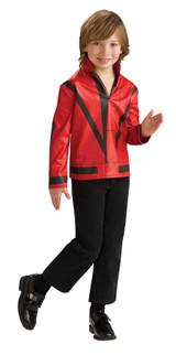 Boy's Red Thriller Michael Jackson Jacket