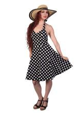 Pin-Up Polka Dot Dress
