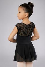 Balera Kids Floral Cap Sleeve Dress