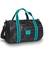 Glitter Hole Punch Duffel Bag