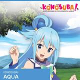 Konosuba - Aqua - Official Licensed Cosplay Wig