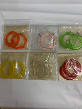 Color Tented Earrings