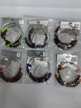 Beads w/Skulls Earrings