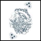 Prison – Pancho – Temporary Tattoo