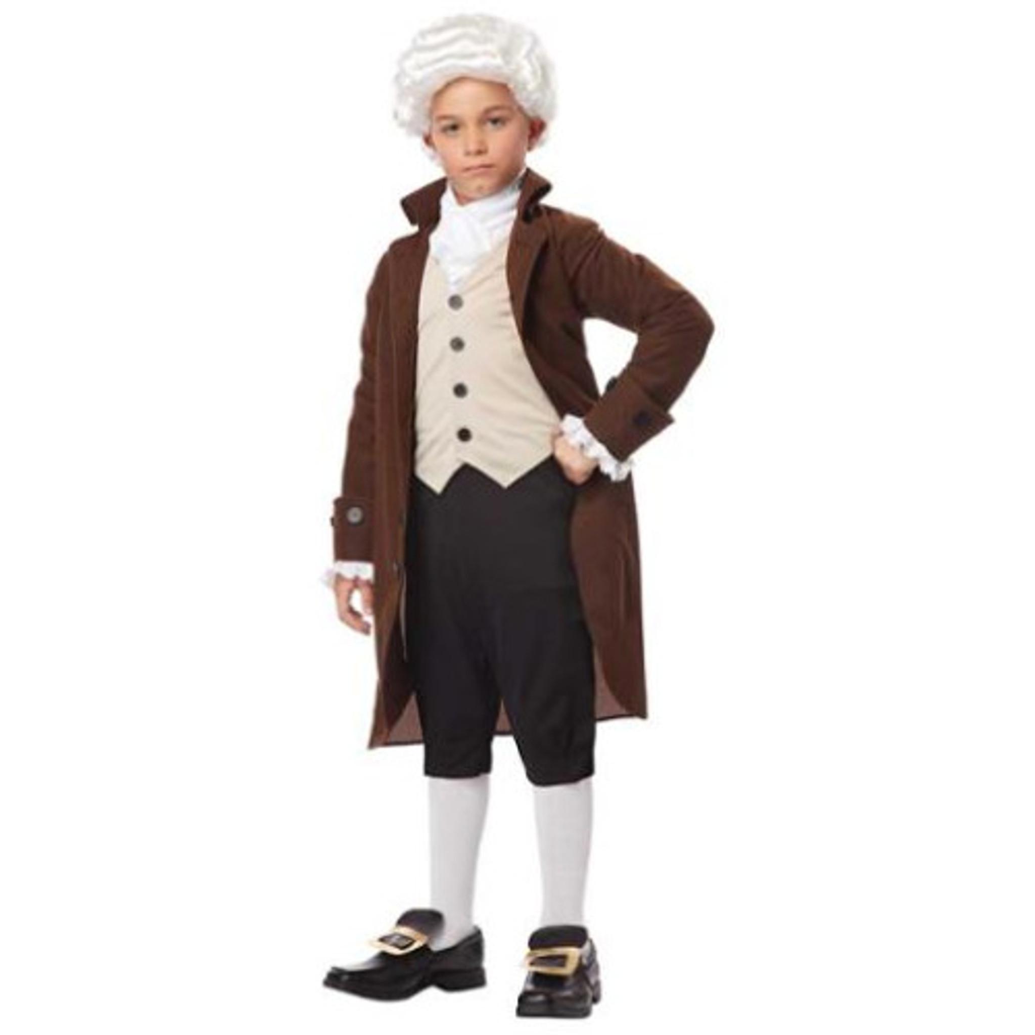 Ben Franklin Historical Child Costume