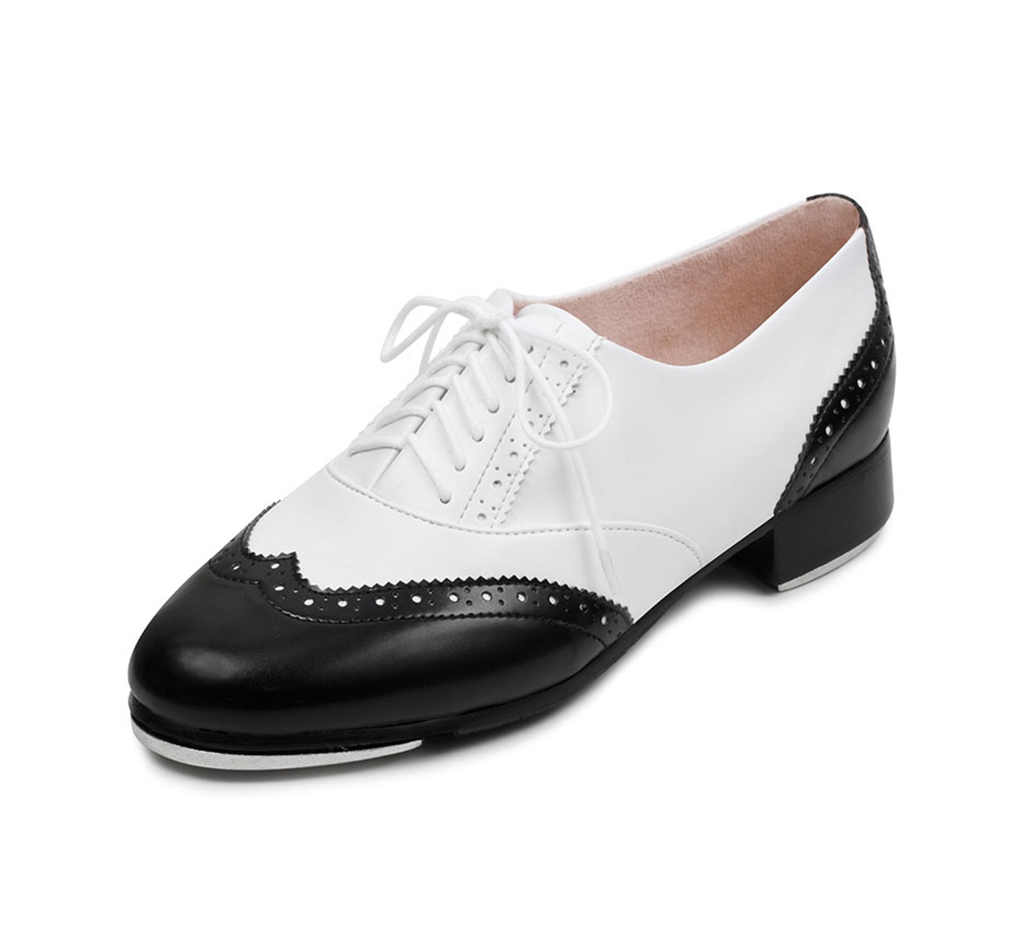 Ladies Charleston White \u0026 Black Classic