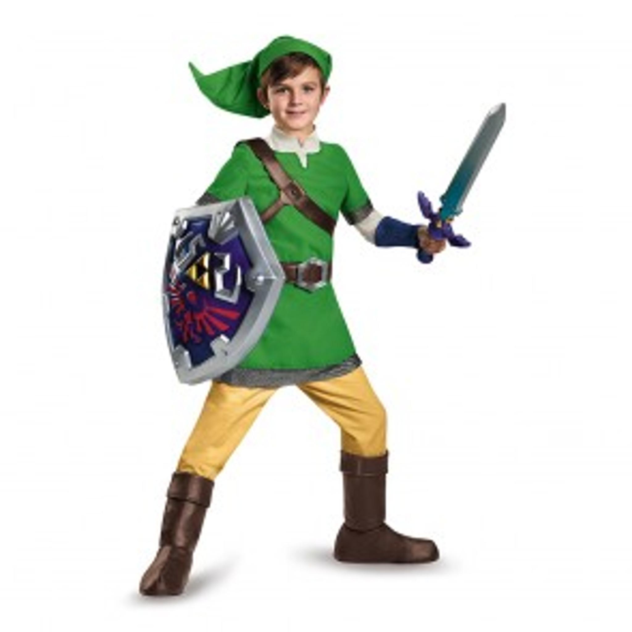 Brand New The Legend of Zelda Zelda Deluxe Adult Costume