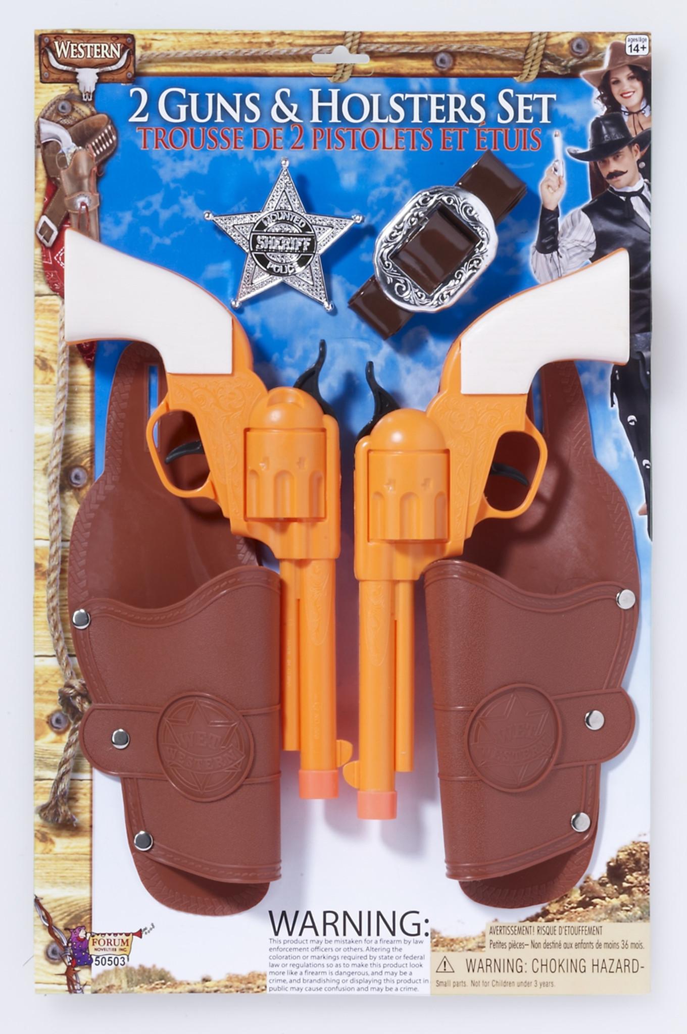 Gangster Double Gun Holster