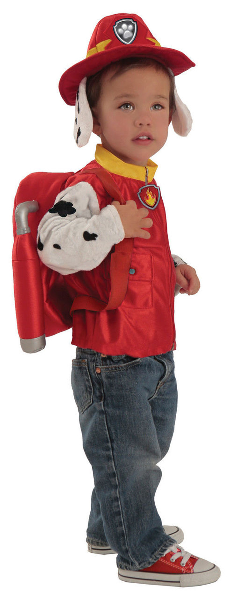 Deluxe Marshall Paw Patrol Child Boys Costume NEW