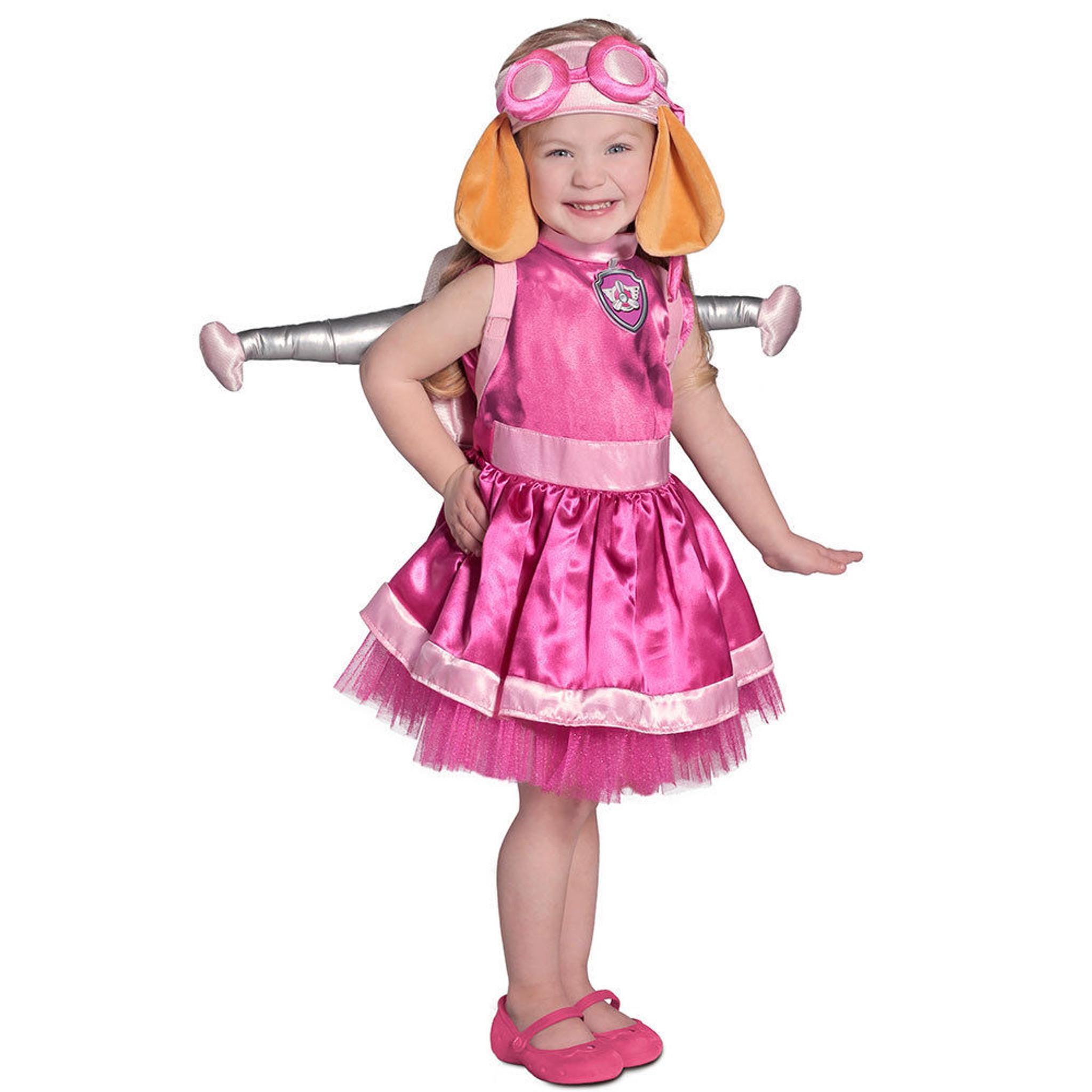 Paw Patrol Skye Toddler & Kids Deluxe Costume