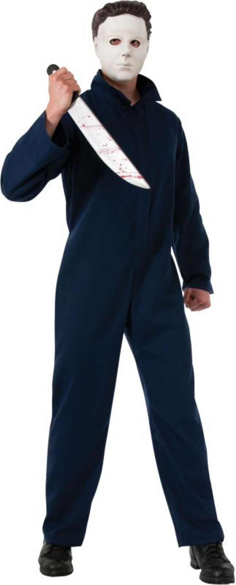 Halloween Michael Myers Costume.Halloween Licensed Deluxe Adult Michael Myers Costume