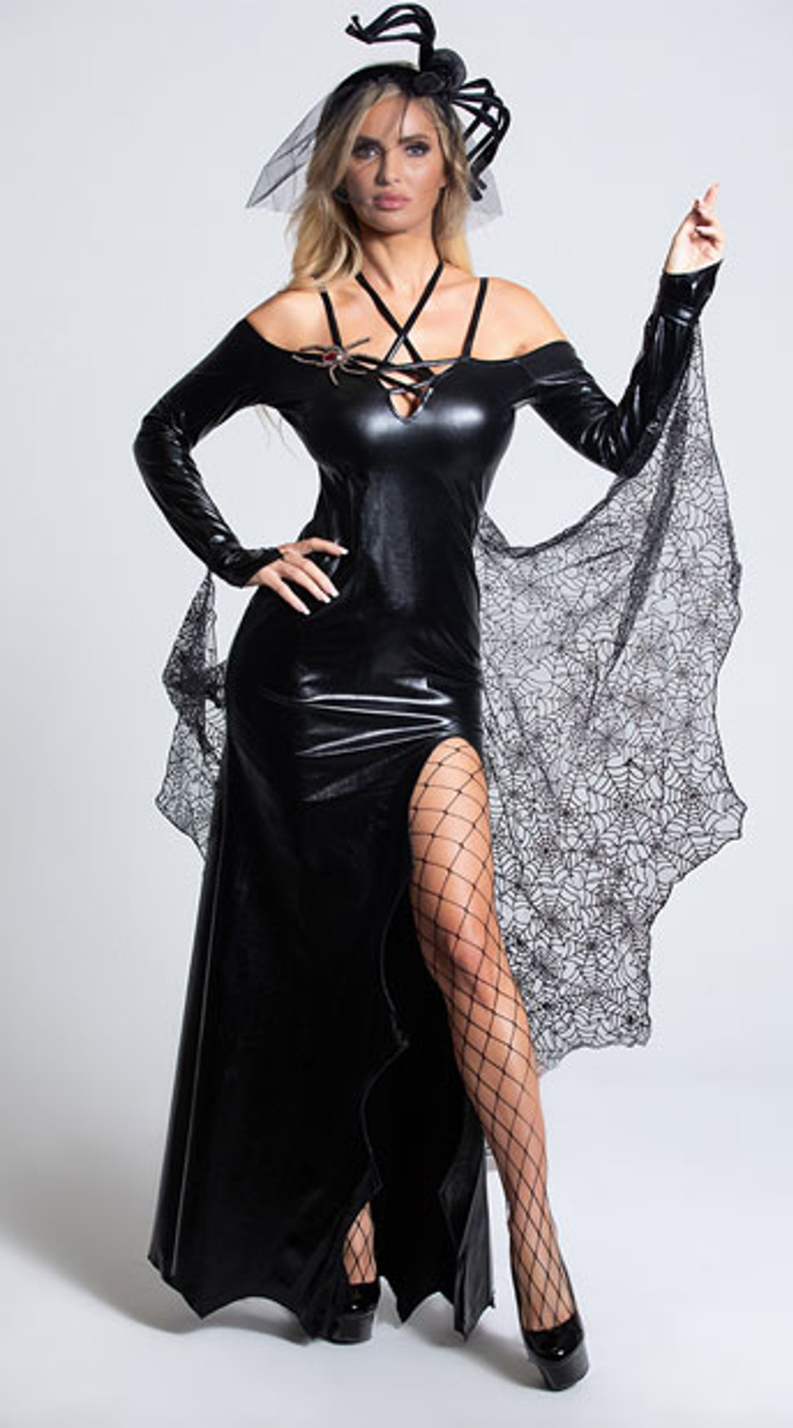 Dreamgirl The Black Widow Ladies Costume