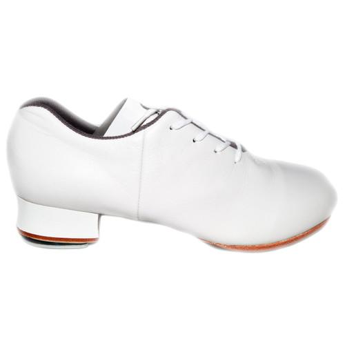 Bloch Women's White Tap Flex w/ Stevens Stompers Clogging Tap Dance Shoes