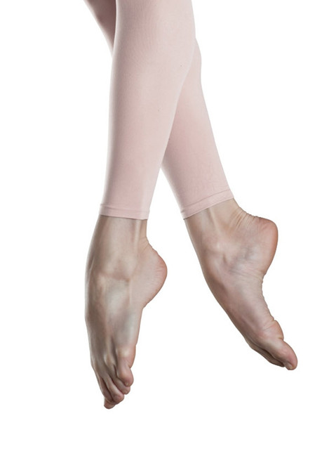 Girl's Endura Footless Tight. Bloch tights are supremely soft and durable.  Features  Durable and soft feel footless tights Sewn-in elastic waistband Dyed-to-match gusset Fabric  88% Nylon, 12% Spandex Notes  In the interest of hygiene, tights and underwear are non-returnable or exchangeable unless faulty