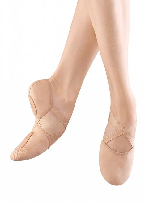 Bloch Canvas Elastospilt Ballet Shoe