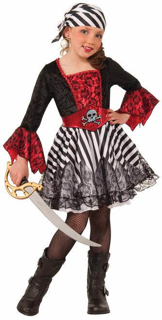 Miss Matey Child's Pirate Costume