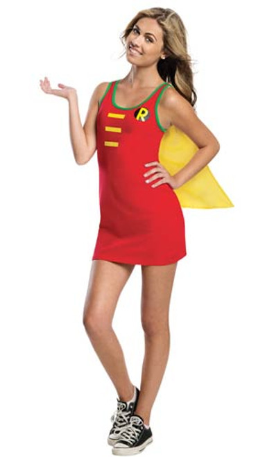Robin Tank Dress Teen with Cape