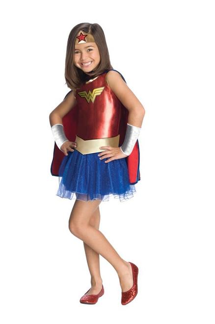 Wonder Woman Girl's Tutu Dress