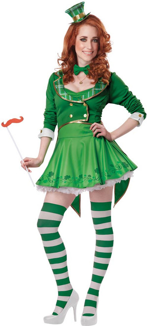 Lucky Charm Dress Adult Costume