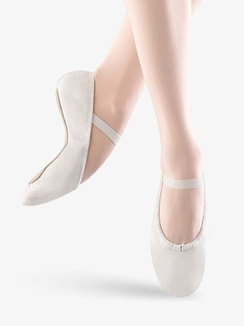 Bloch Dansoft Full Sole Ballet Shoe - White