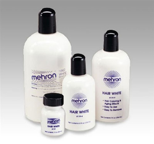 Hair White Liquid Makeup 1 fl oz (30 ml) or 4 fl oz
