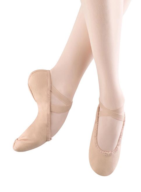 Ladies Belle Full Sole Ballet Pink Slipper