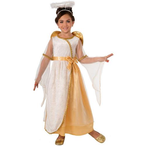 Golden Angel Kids Costume