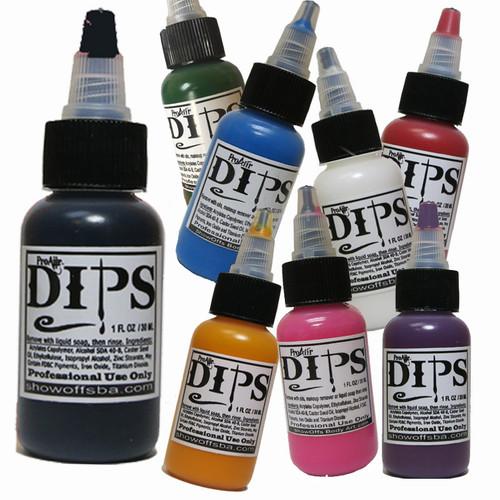 ProAiir Hybrid 1oz DIPS Waterproof Face/Body Makeup