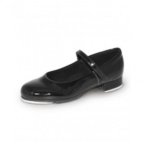 Leos Girl's Rhythm Tap Shoe with Velcro Straps