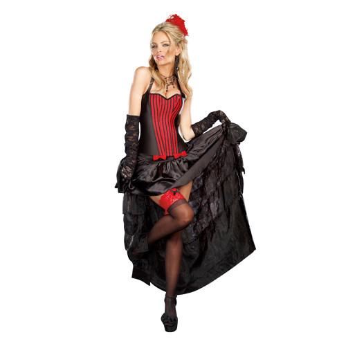 Burlesque Ruffled Skirt