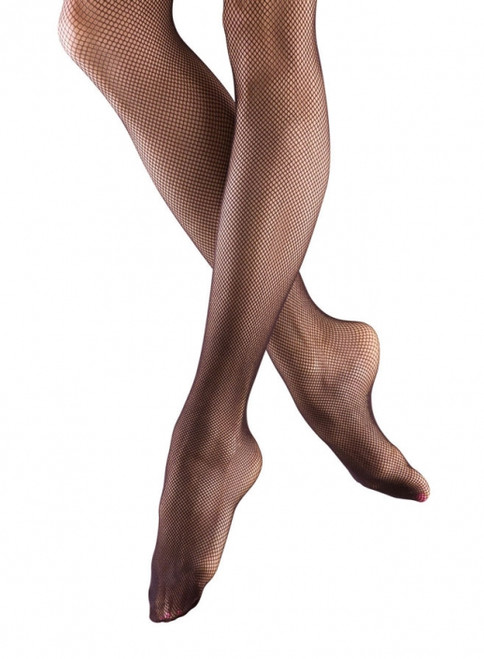Ladies Fishnet Tights. Seamless. Bloch tights are supremely soft and durable.   Features   Lightweight and durable standard size net Seamless Leg Does not have footpad  Fabric   88% Nylon, 12% Spandex  Notes   In the interest of hygiene, tights and underwear are non-returnable or exchangeable unless faulty