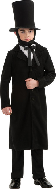 Abraham Lincoln Kids Costume Deluxe Quality