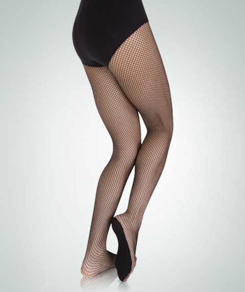 Body Wrappers Adult Total STRETCH Fishnet No Backseam Tights