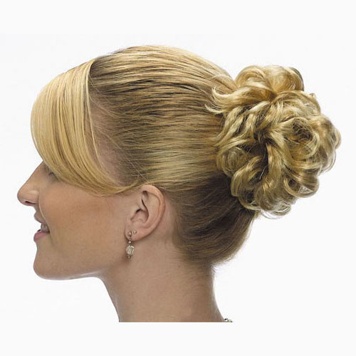 Curly Synthetic Hair Scrunchie
