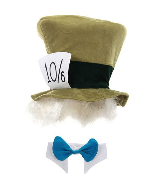 Mad Hatter Kit Hat with Hair