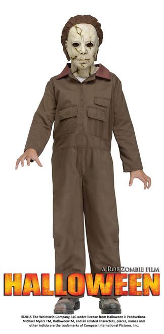 Halloween Licensed Michael Myers Kids Costume Rob Zombie's