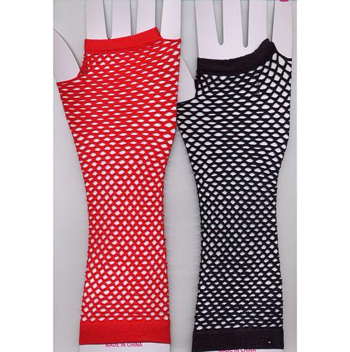 Fishnet Fingerless Gloves Assorted Neon Colors