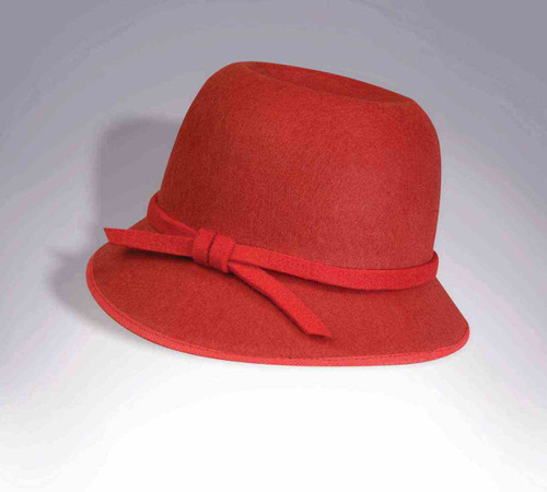 20's Flapper Hat Red