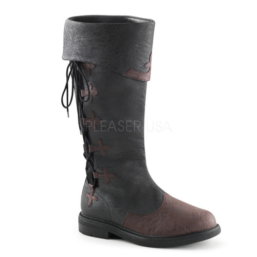 Men's Distressed Pirate Boots or Medieval Boots