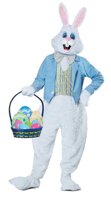 Easter Bunny Deluxe 5 pc. Adult Costume