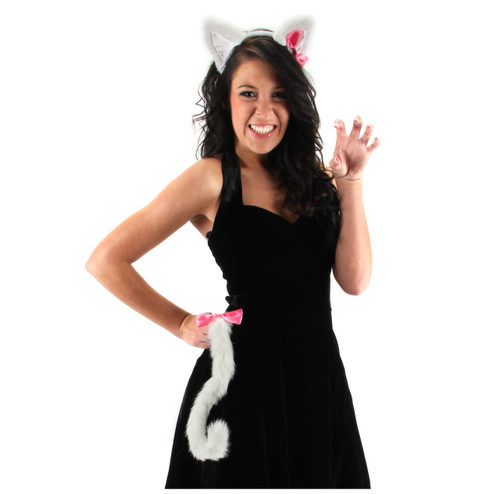/cute-kitty-kit-white-ears-tail-pink-bow/