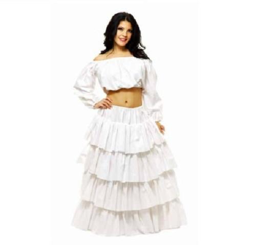 Ladies 4 Tier Cotton Petticoat