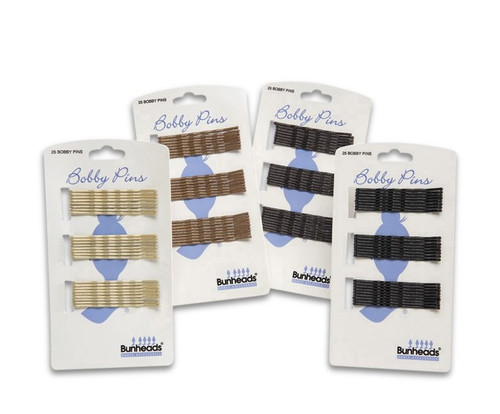 Double coated bobby pins Perfect for buns 25 pins per card  Imaginations is the largest Costume & Dance store on the East Coast, Located in Myrtle Beach!