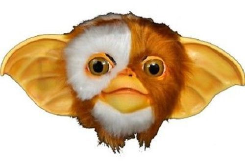 Gremlins licensed gizmo mask full overhead latex