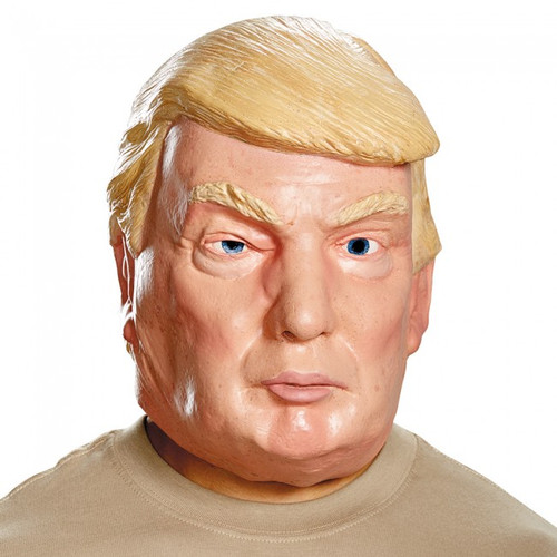 Donald Trump Latex Mask Deluxe The Candidate Presidential Politically Incorrectl