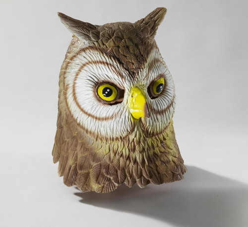 Owl Mask Deluxe Latex Full over the Head