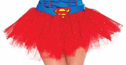 Supergirl Tutu Adult Skirt Licensed Superman
